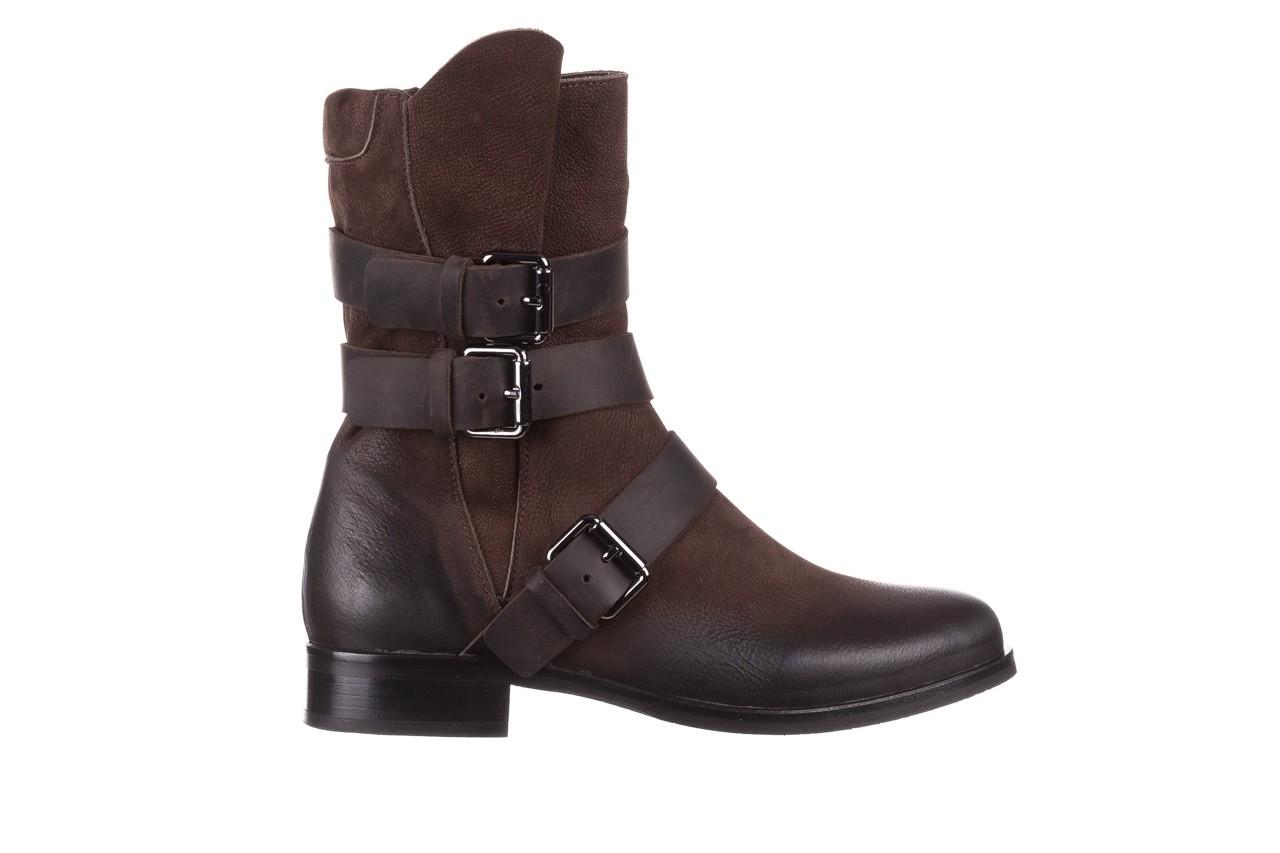 Botki bayla-161 050-09435 brown, brąz, skóra naturalna  - skórzane - botki - buty damskie - kobieta 11