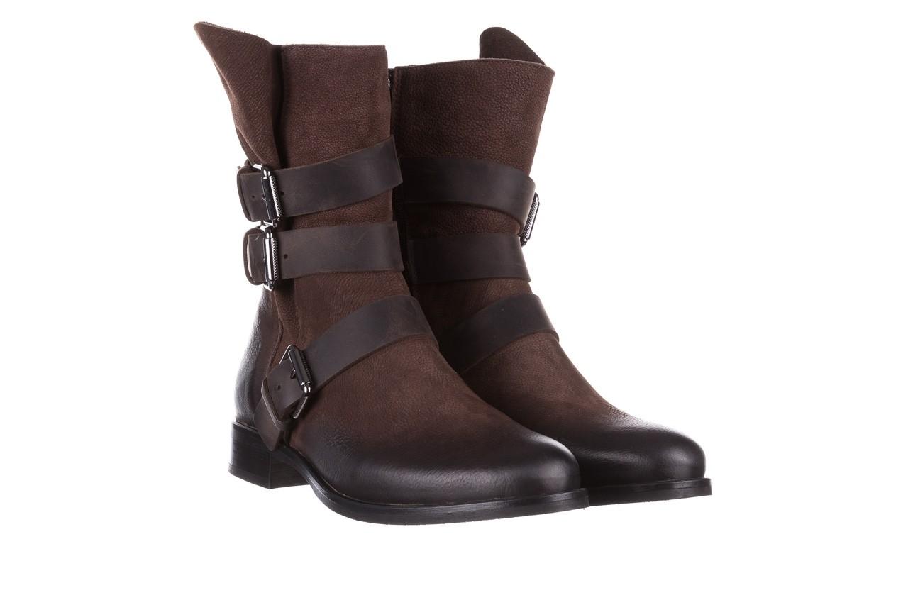 Botki bayla-161 050-09435 brown, brąz, skóra naturalna  - skórzane - botki - buty damskie - kobieta 12
