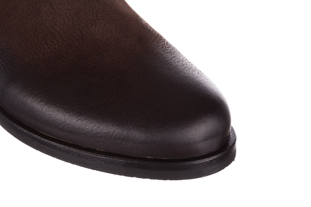 Botki bayla-161 050-09435 brown, brąz, skóra naturalna  - skórzane - botki - buty damskie - kobieta 17