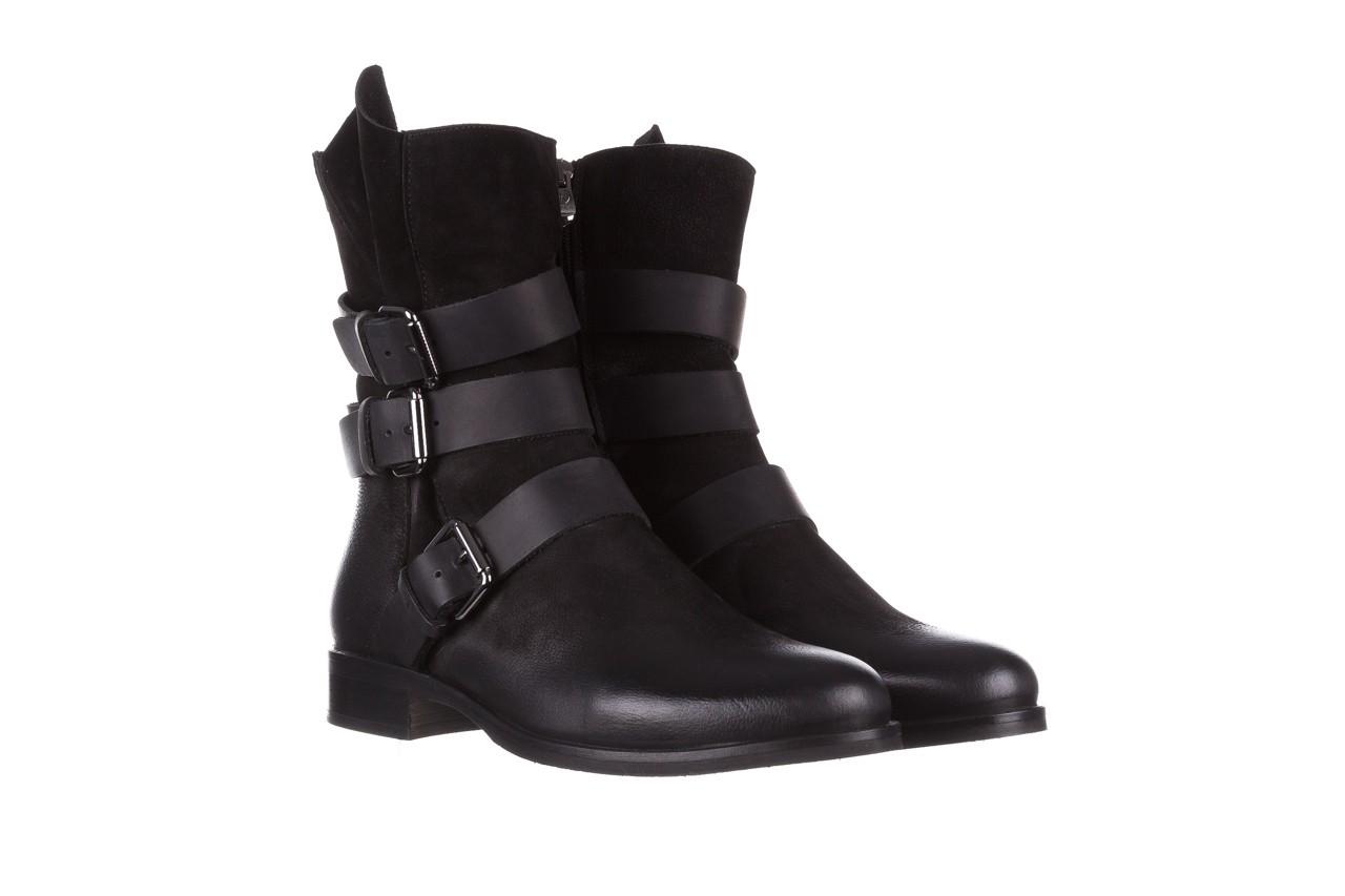 Botki bayla-161 050-09435 black, czarny, skóra naturalna  - skórzane - botki - buty damskie - kobieta 12
