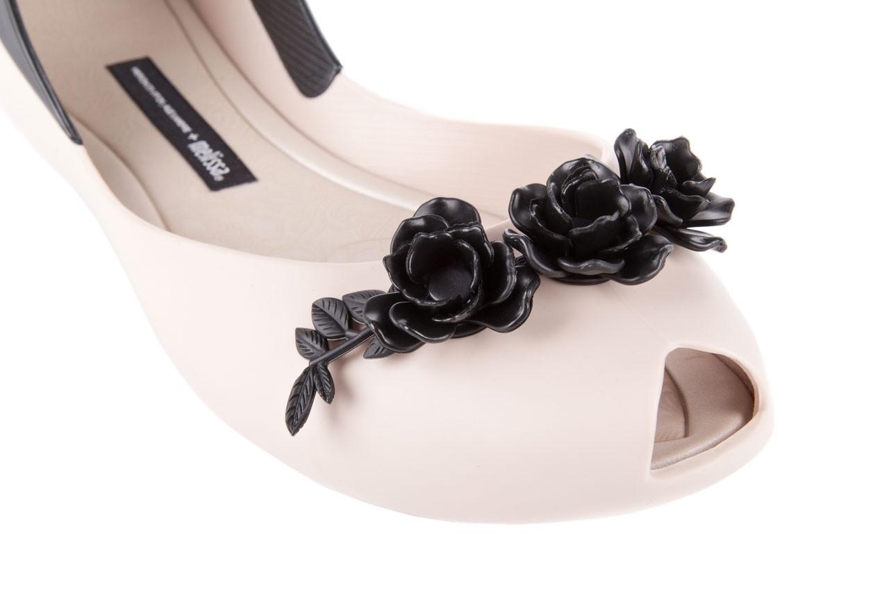 Ah+melissa flower queen  ad beige/black - melissa - nasze marki 11