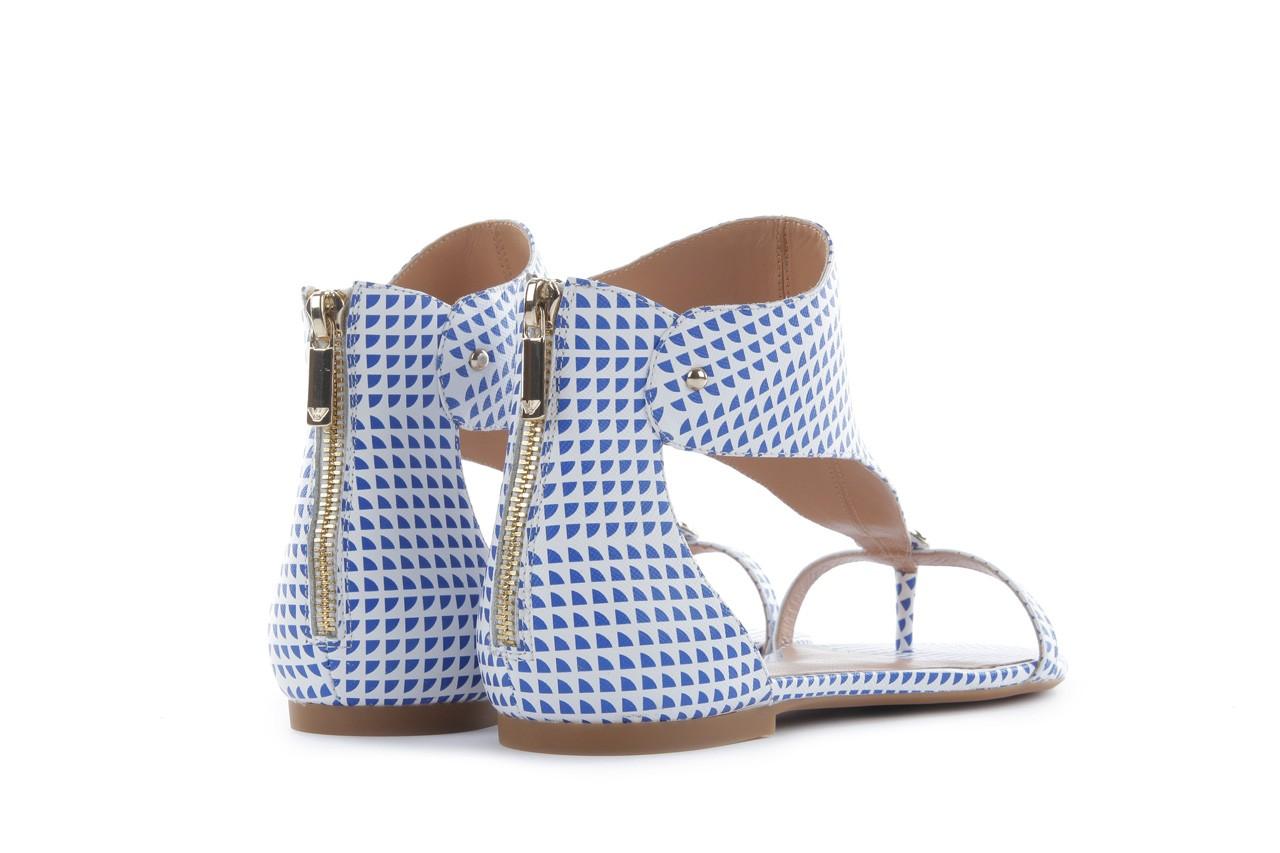 Sandały armani jeans a55e6 39 white, biały, skóra naturalna - armani jeans - nasze marki 10