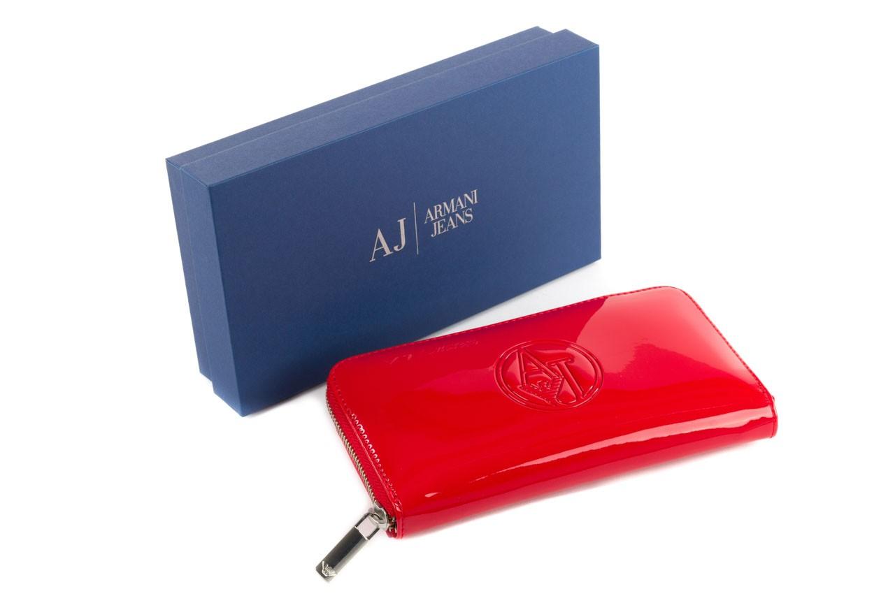 Armani jeans portfel 05v32 rj red - nasze marki 6