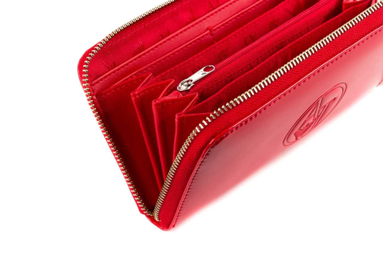 Armani jeans portfel 05v32 rj red - nasze marki 7