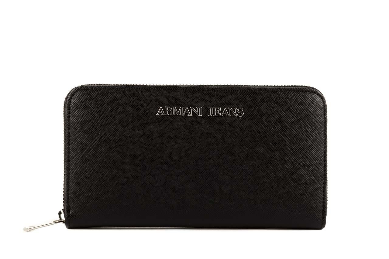 Armani jeans portfel b5v32 u8 black - armani jeans - nasze marki 5