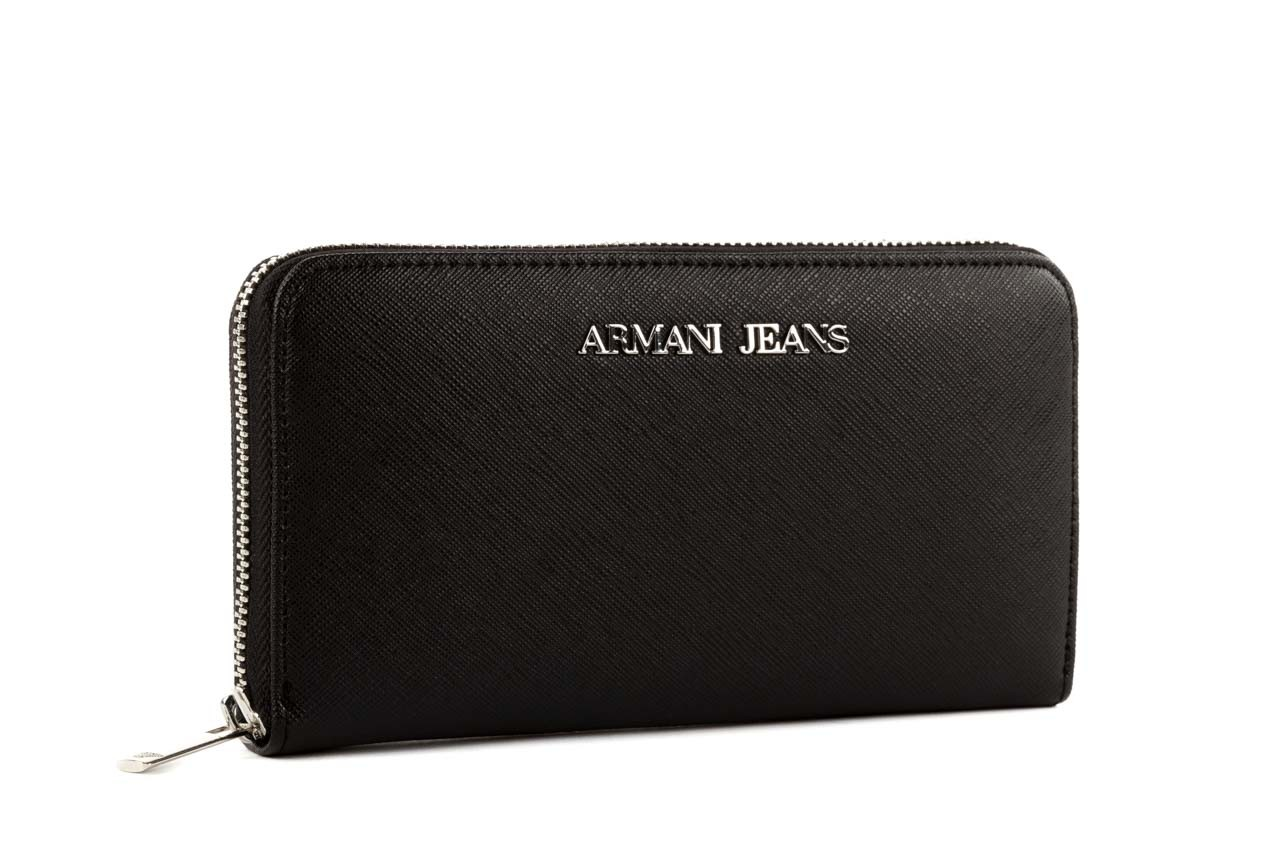 Armani jeans portfel b5v32 u8 black - armani jeans - nasze marki 6