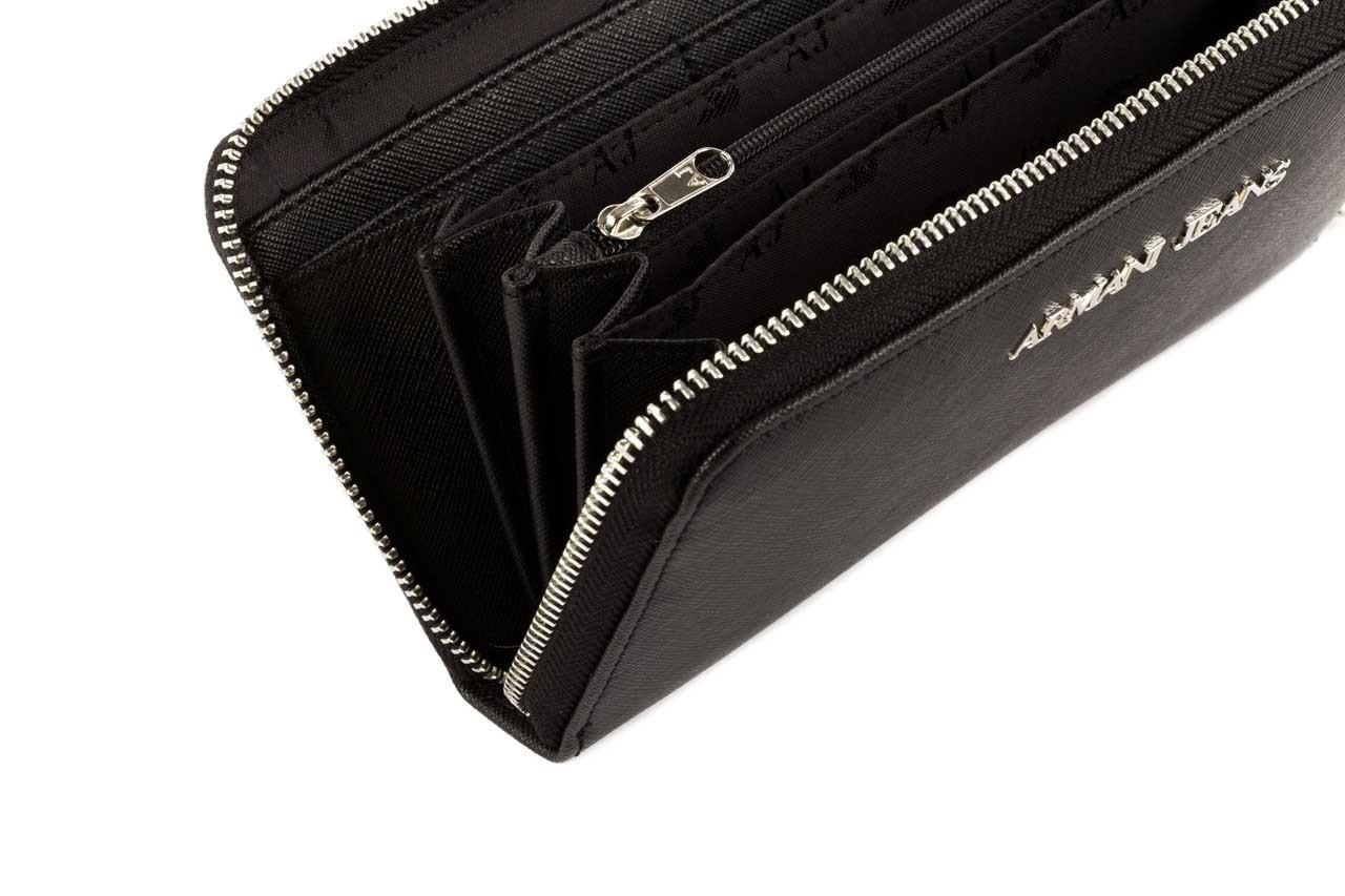 Armani jeans portfel b5v32 u8 black - armani jeans - nasze marki 9