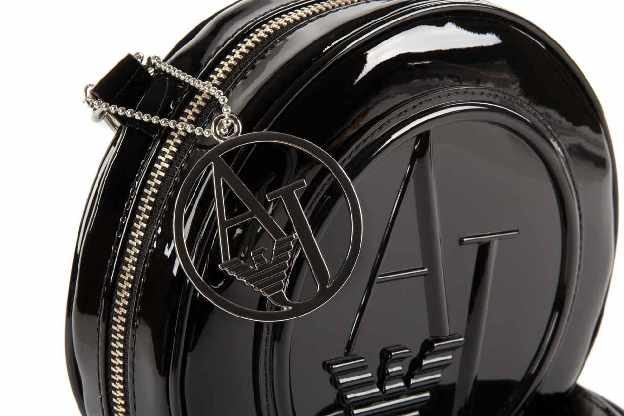 Armani jeans torebka 0520d rj black - armani jeans - nasze marki 11