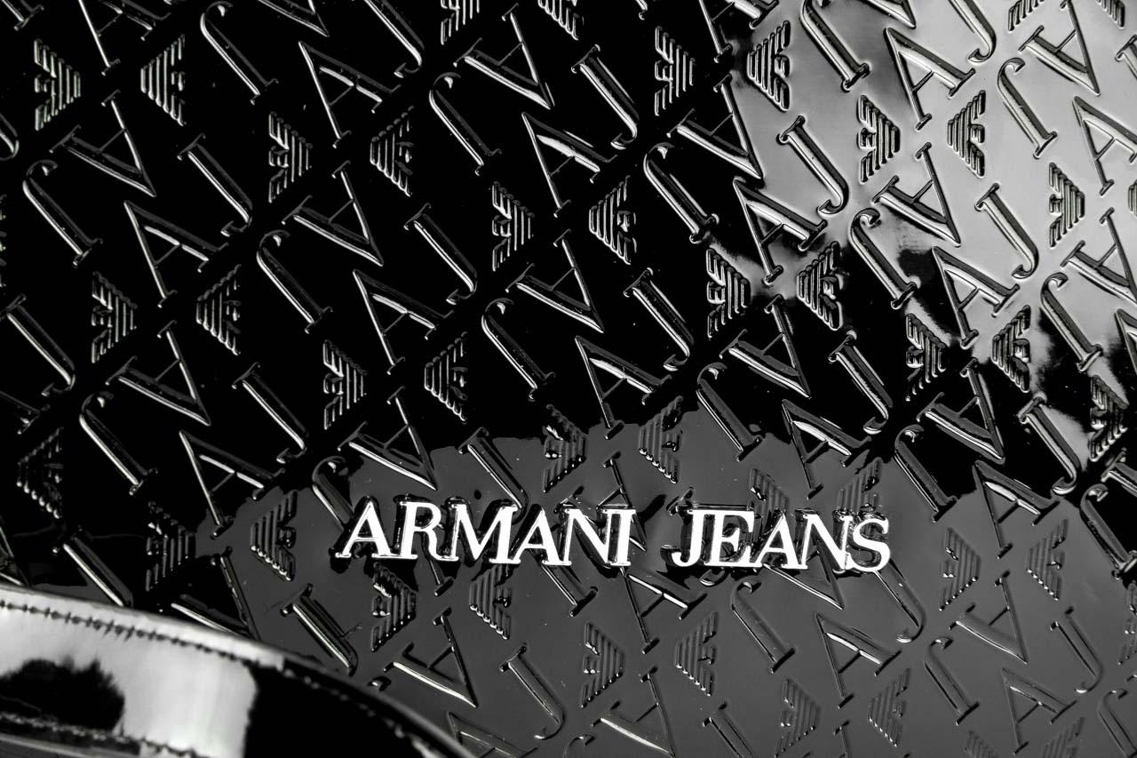 Armani jeans torebka 0525m a9 black - armani jeans - nasze marki 8