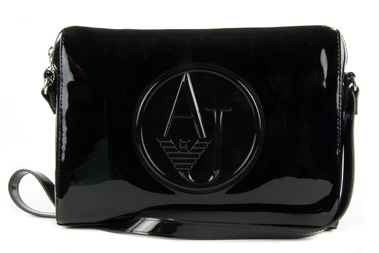 Armani jeans torebka 0528b rj black - armani jeans - nasze marki 9