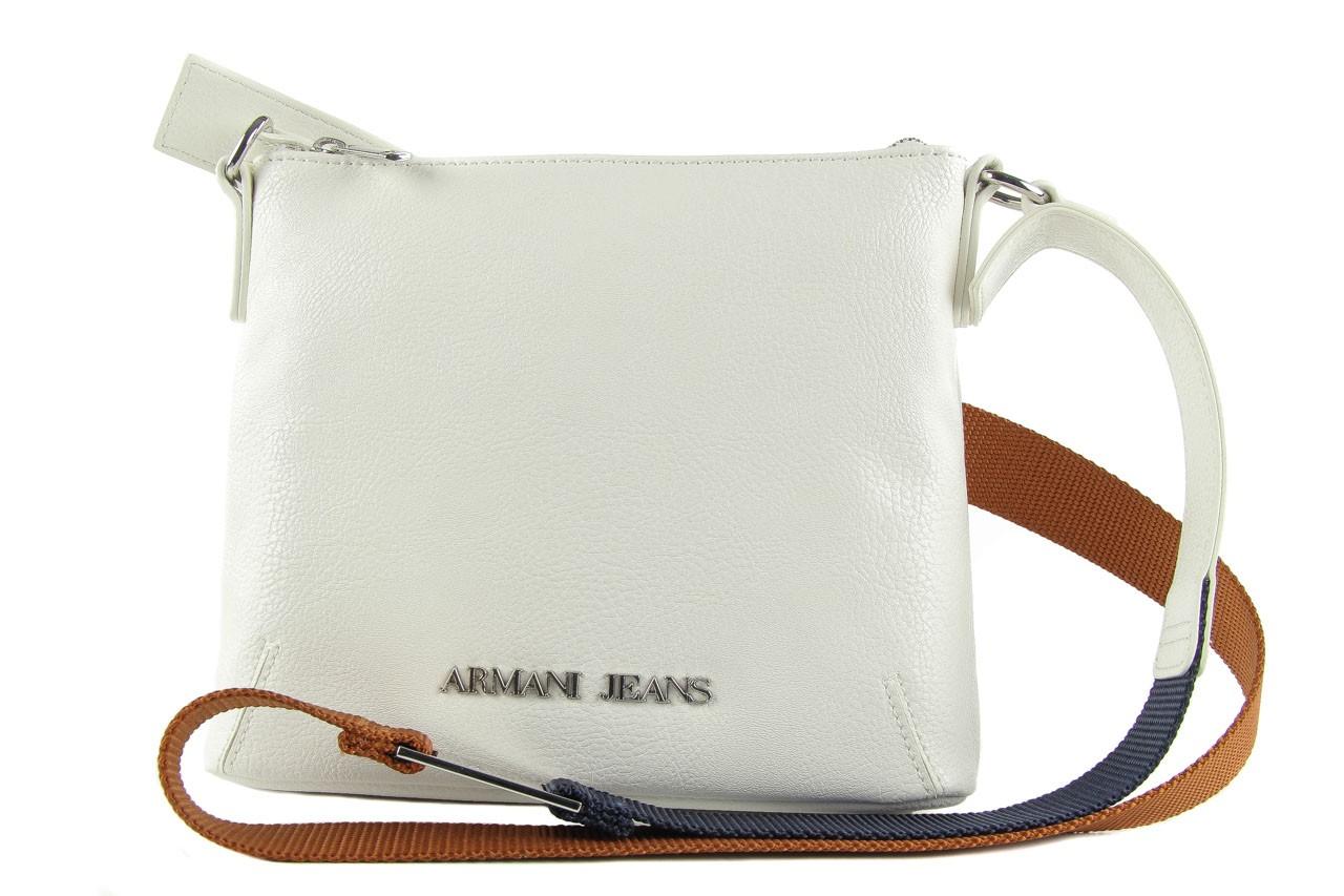 Armani jeans torebka a5237 v4 white 8