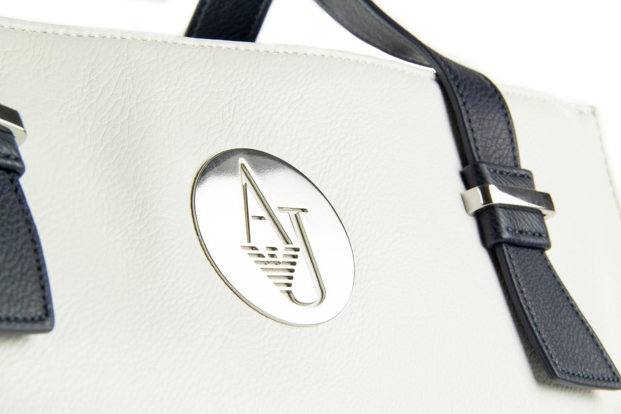 Armani jeans torebka a523b v1 white - nasze marki 8
