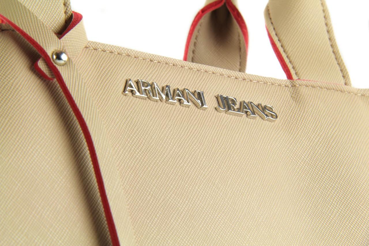 Armani jeans torebka a524z v6 beige - armani jeans - nasze marki 11