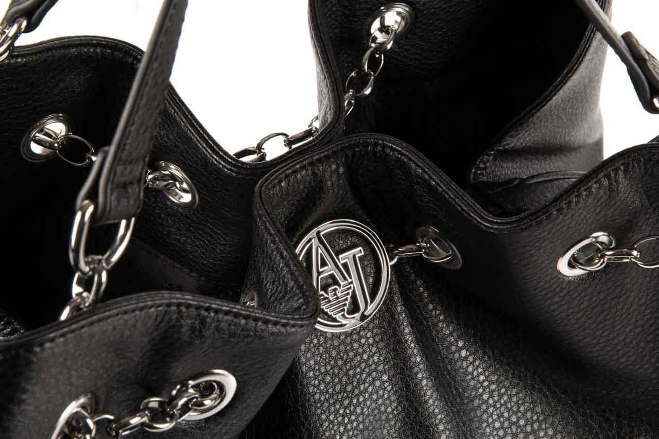 Armani jeans torebka b5239 v7 black - armani jeans - nasze marki 8