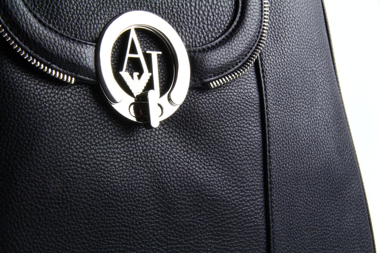 Armani jeans torebka z5227 u4 black - armani jeans - nasze marki 11