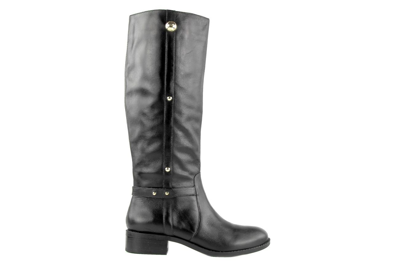 Kozaki armani jeans z5546 41 nero, czarny, skóra naturalna - kozaki - dla niej  - sale 9