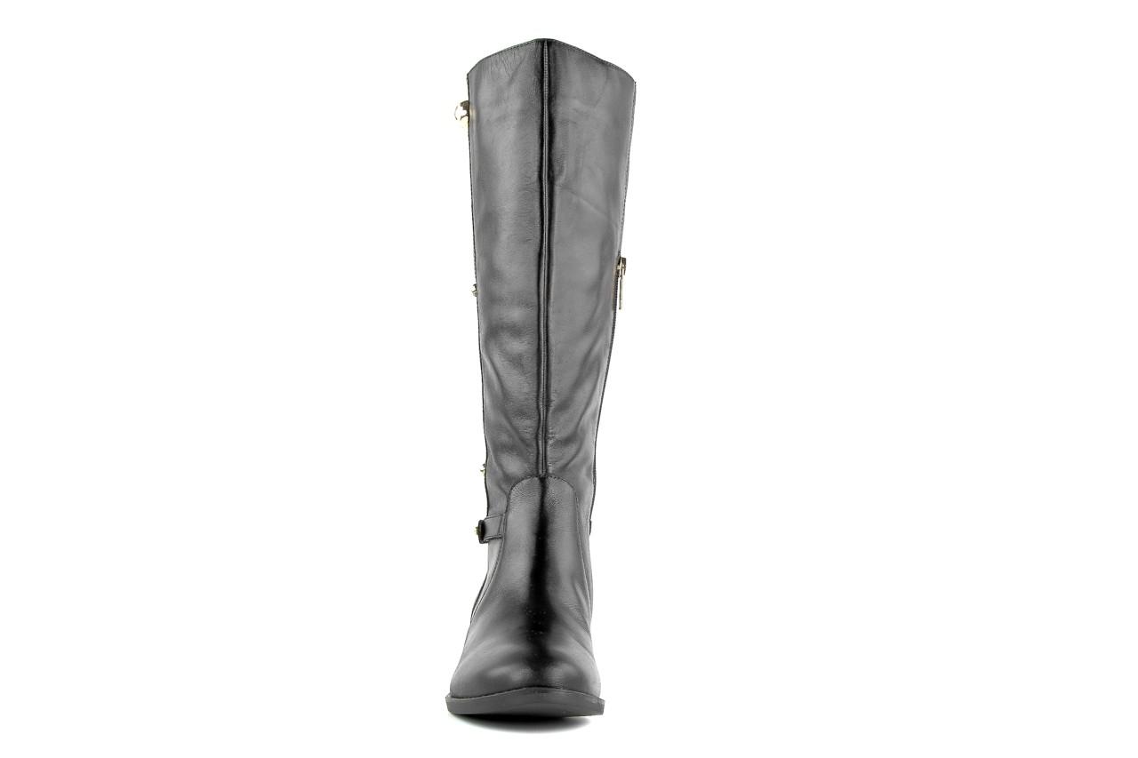 Kozaki armani jeans z5546 41 nero, czarny, skóra naturalna - kozaki - dla niej  - sale 6