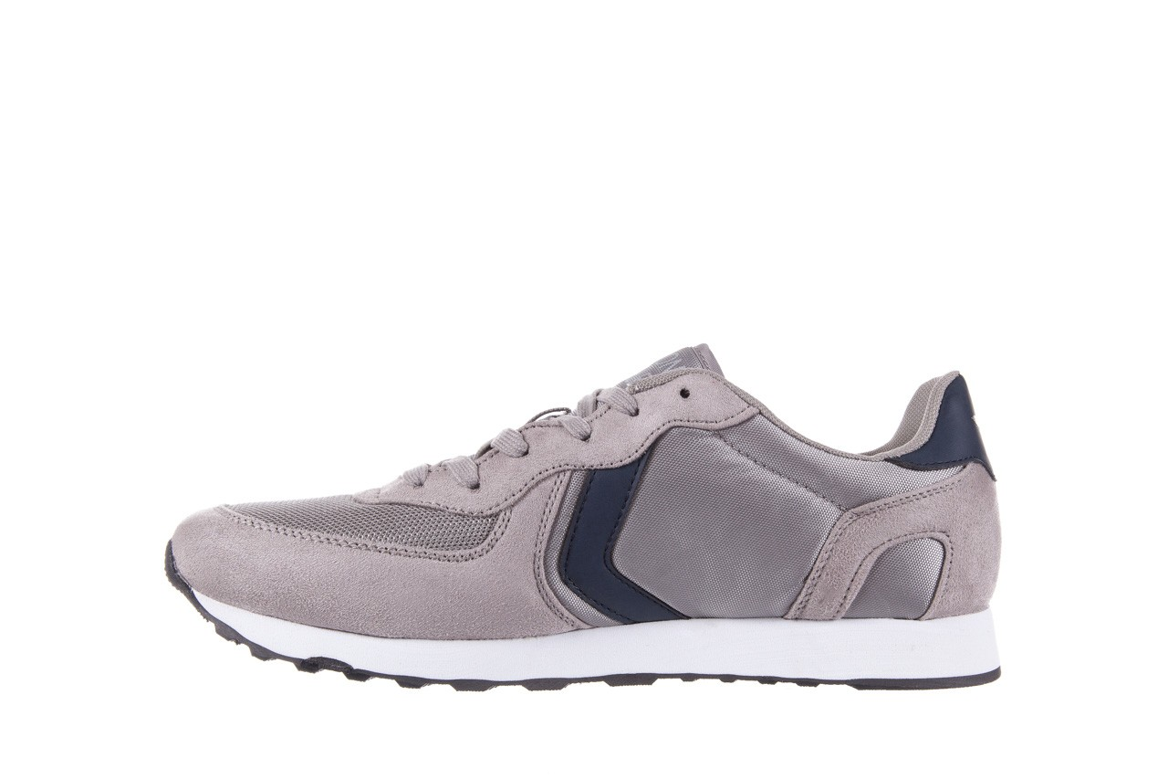 Sneakersy aviazione navale an100 grey, szary, materiał - nasze marki 8