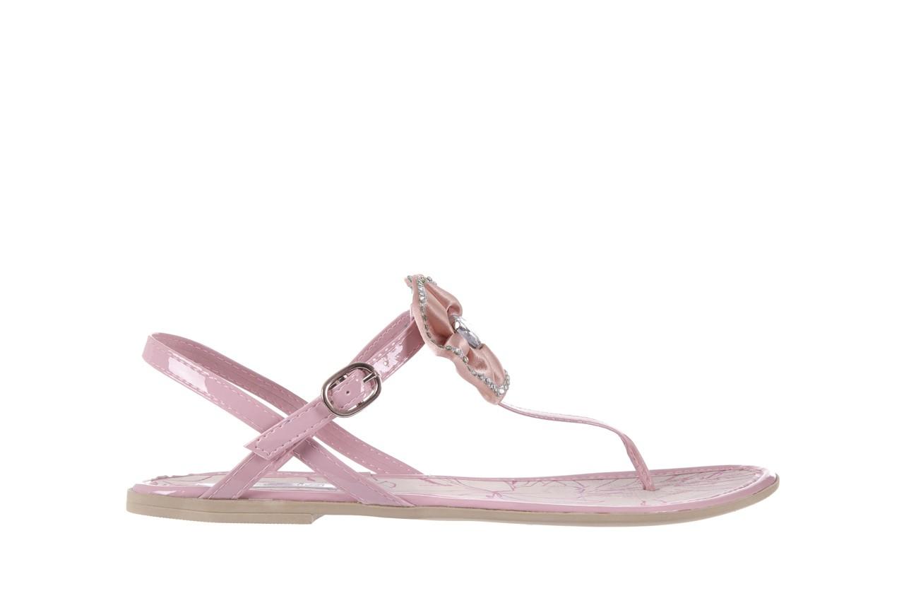 Sandały azaleia 130 132 patent pink, róż, guma - japonki - sandały - buty damskie - kobieta 6