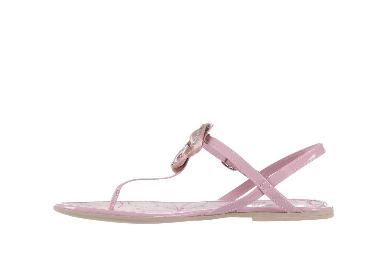 Sandały azaleia 130 132 patent pink, róż, guma - japonki - sandały - buty damskie - kobieta 8