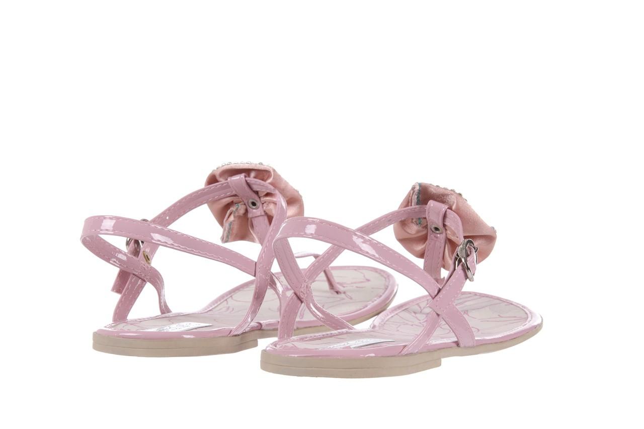 Sandały azaleia 130 132 patent pink, róż, guma - japonki - sandały - buty damskie - kobieta 9