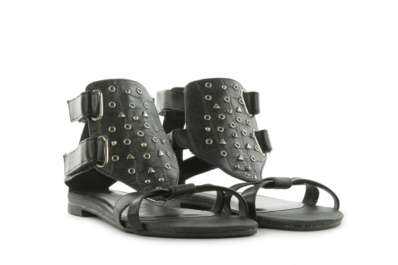 Sandały azaleia 135-az130 black, czarny, skóra ekologiczna  - azaleia - nasze marki 7