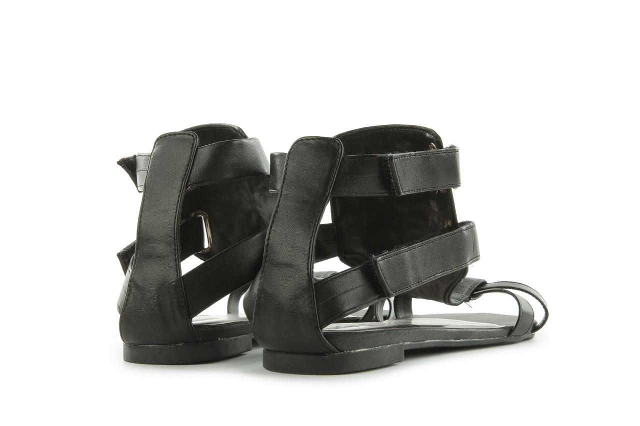 Sandały azaleia 135-az130 black, czarny, skóra ekologiczna  - azaleia - nasze marki 9