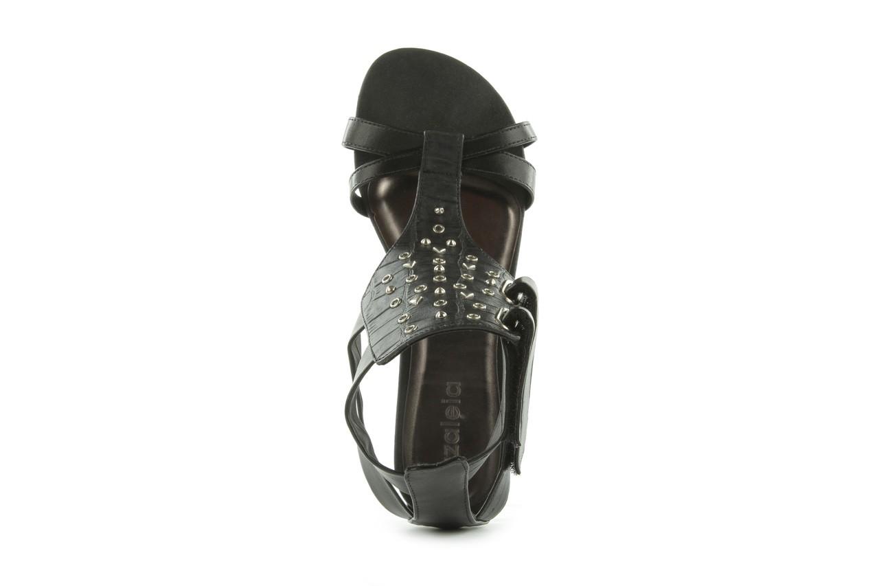 Sandały azaleia 135-az130 black, czarny, skóra ekologiczna  - azaleia - nasze marki 10