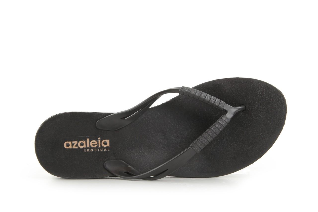 Klapki azaleia 229 335 black, czarny, guma 9