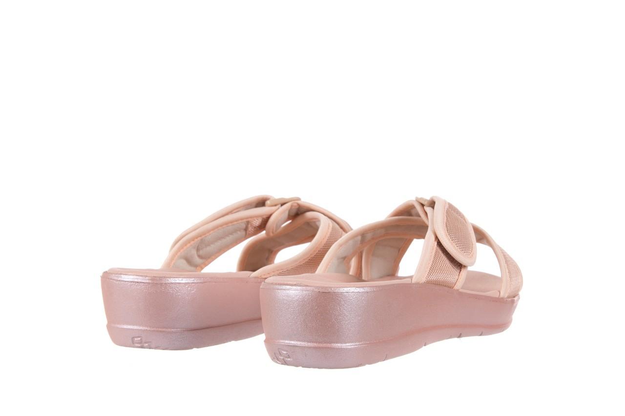 Klapki azaleia 261-street250 pink, róż, materiał - azaleia - nasze marki 9