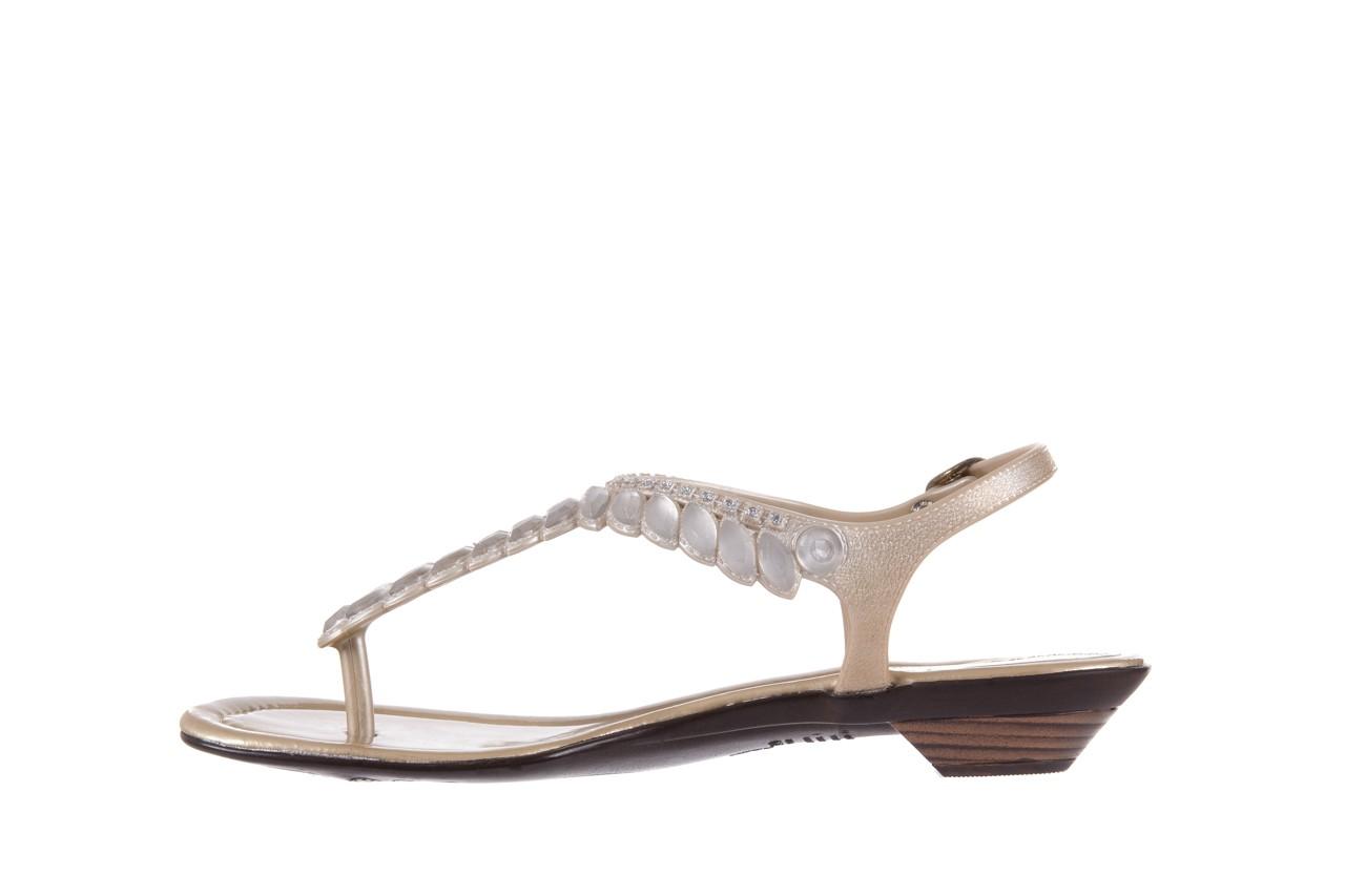 Sandały azaleia 311-grazi300 gold, złote, guma - azaleia - nasze marki 8