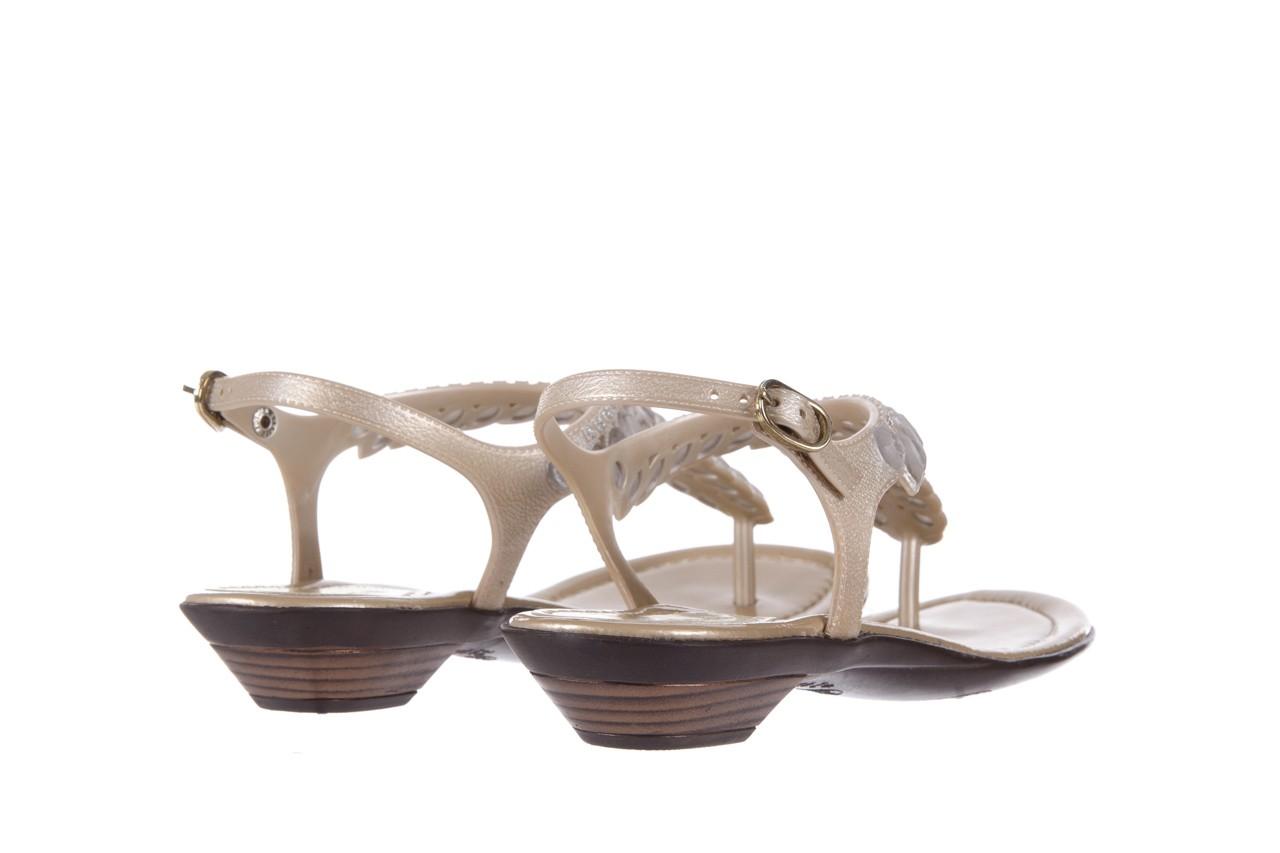 Sandały azaleia 311-grazi300 gold, złote, guma - azaleia - nasze marki 9
