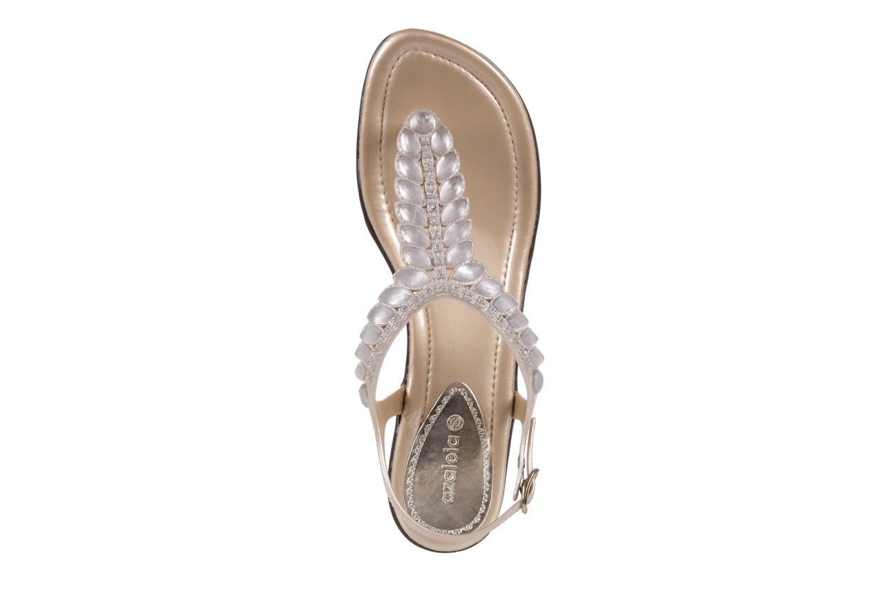 Sandały azaleia 311-grazi300 gold, złote, guma - azaleia - nasze marki 10