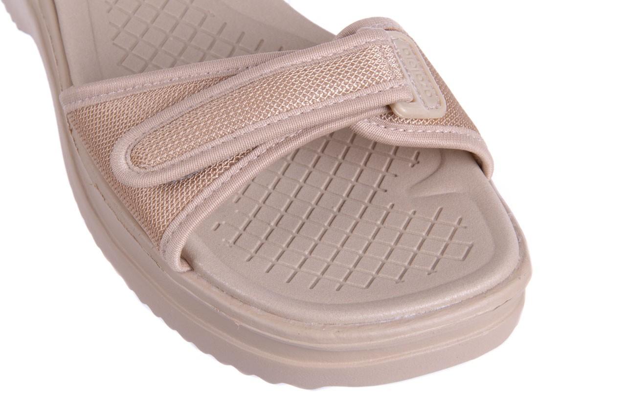 Sandały azaleia 320 321 beige 18, beż, materiał - obuwie sportowe - buty damskie - kobieta 11