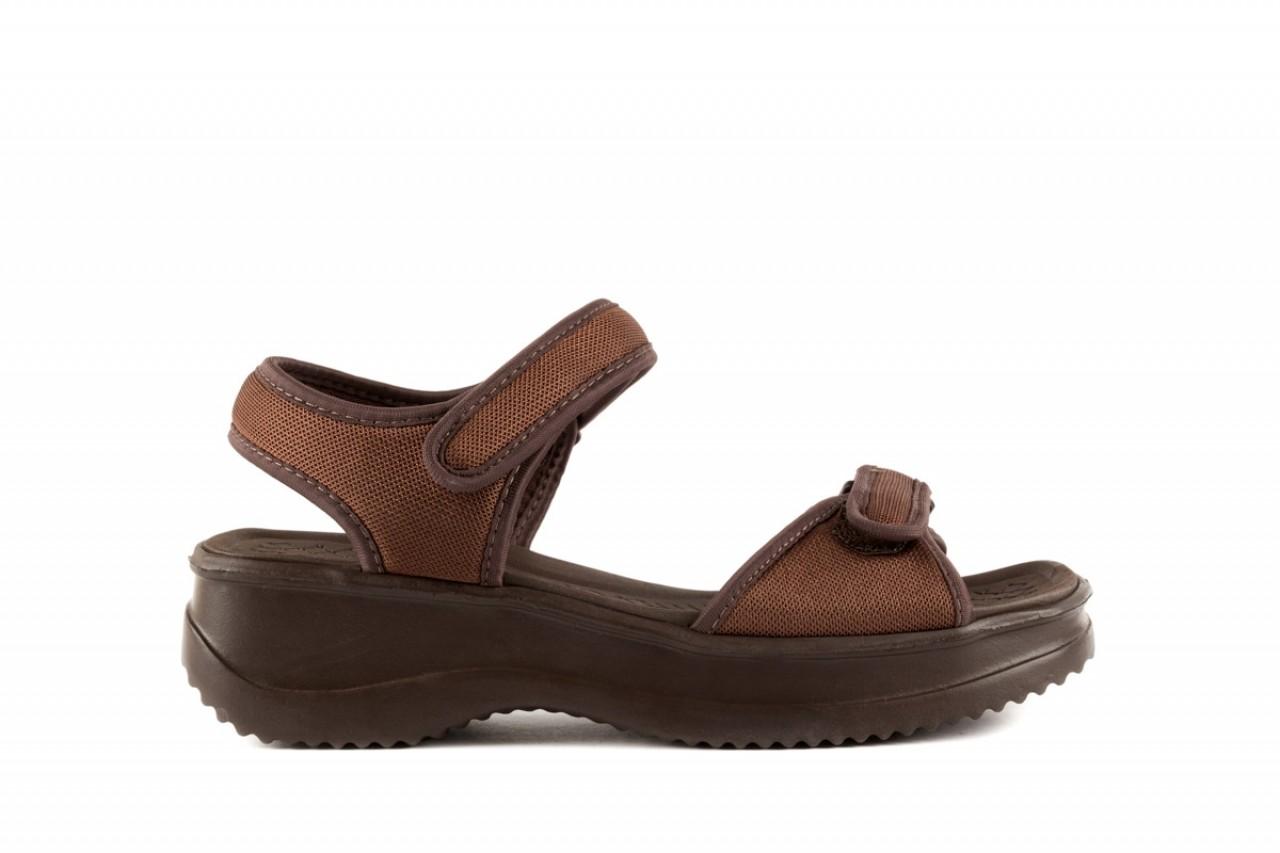 Sandały azaleia 320 321 brown 19, brąz, materiał - azaleia - nasze marki 5
