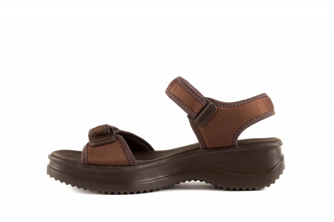 Sandały azaleia 320 321 brown 19, brąz, materiał - azaleia - nasze marki 7