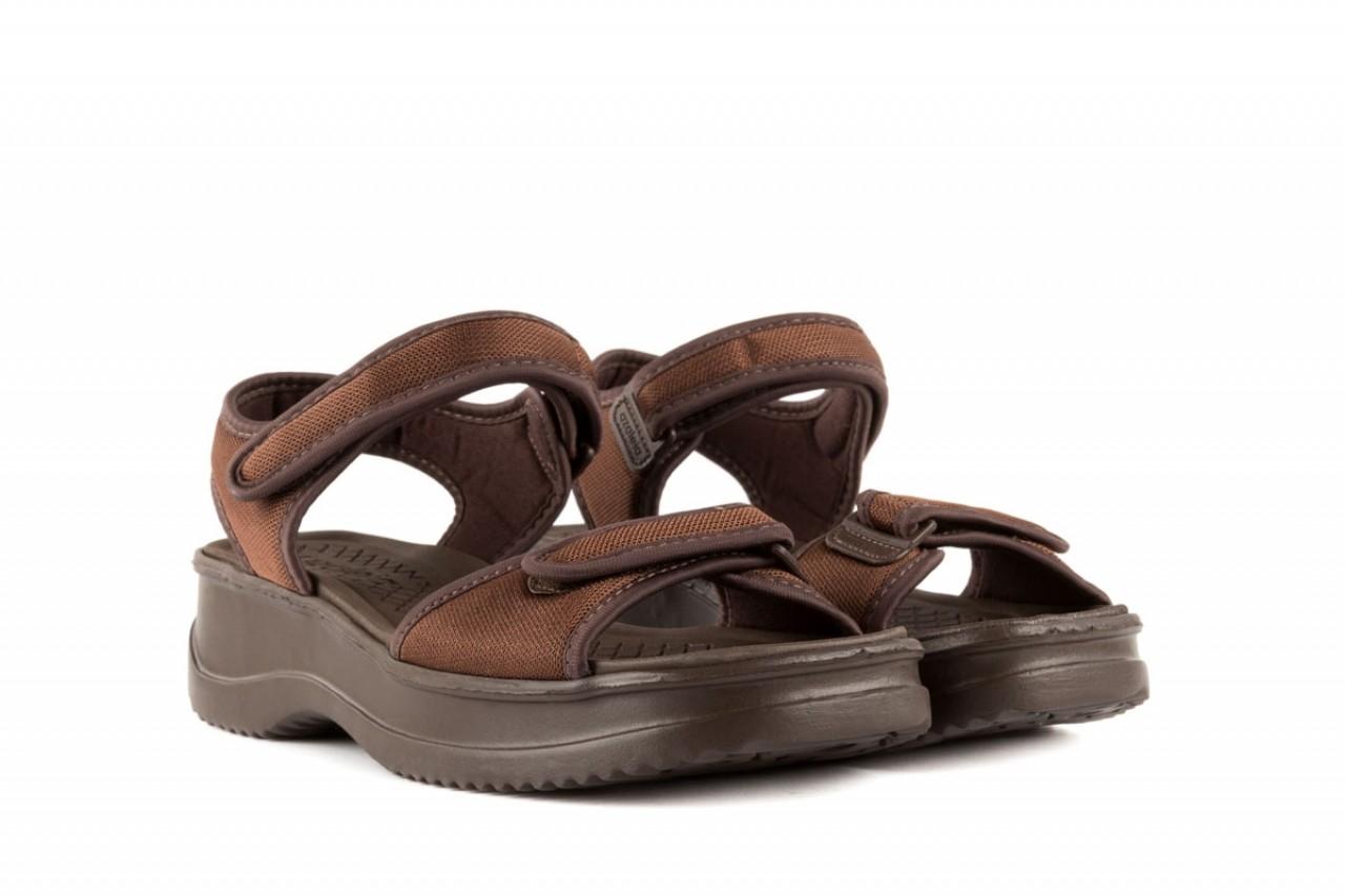 Sandały azaleia 320 321 brown 19, brąz, materiał - azaleia - nasze marki 6