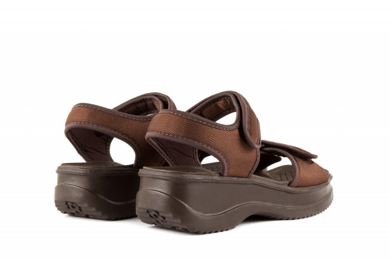 Sandały azaleia 320 321 brown 18, brąz, materiał - azaleia - nasze marki 8