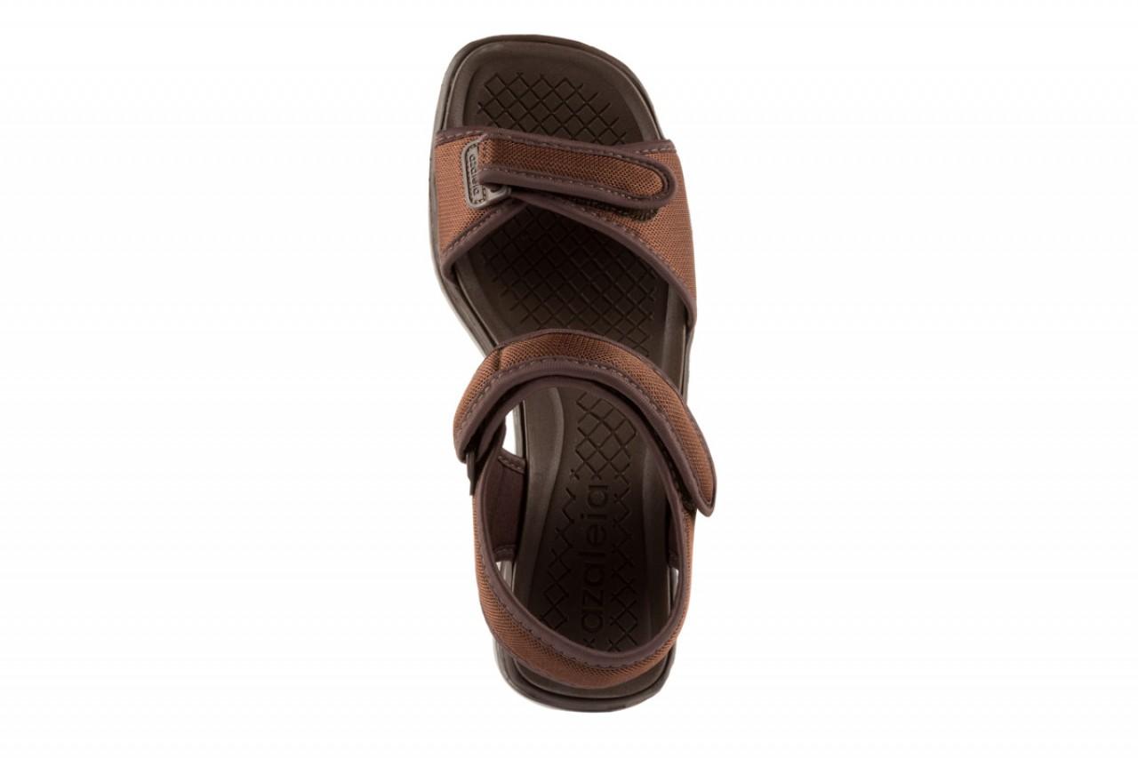 Sandały azaleia 320 321 brown 18, brąz, materiał - azaleia - nasze marki 9