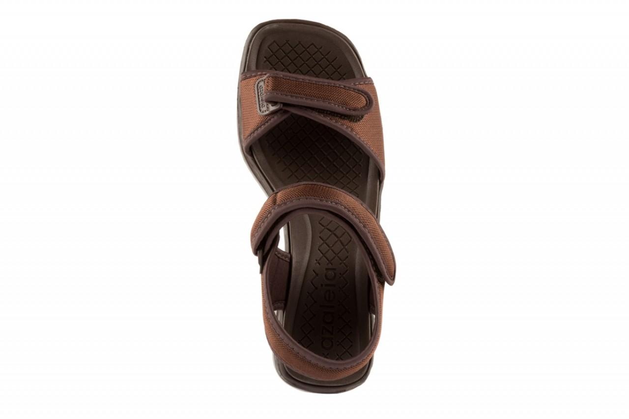 Sandały azaleia 320 321 brown 19, brąz, materiał - azaleia - nasze marki 9