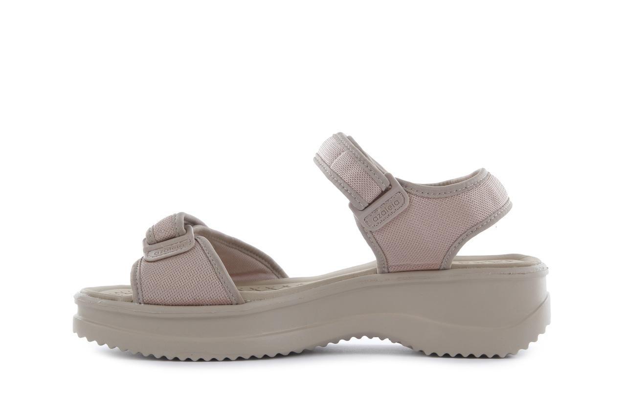 Sandały azaleia 320 321 pearl 18, beż, materiał - azaleia - nasze marki 8