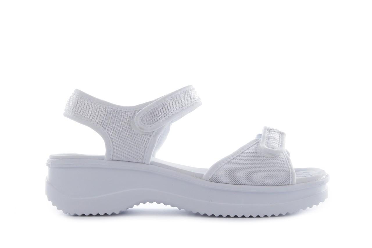 Sandały azaleia 320 321 white 20, biały, materiał - mega okazje - ostatnie rozmiary 6