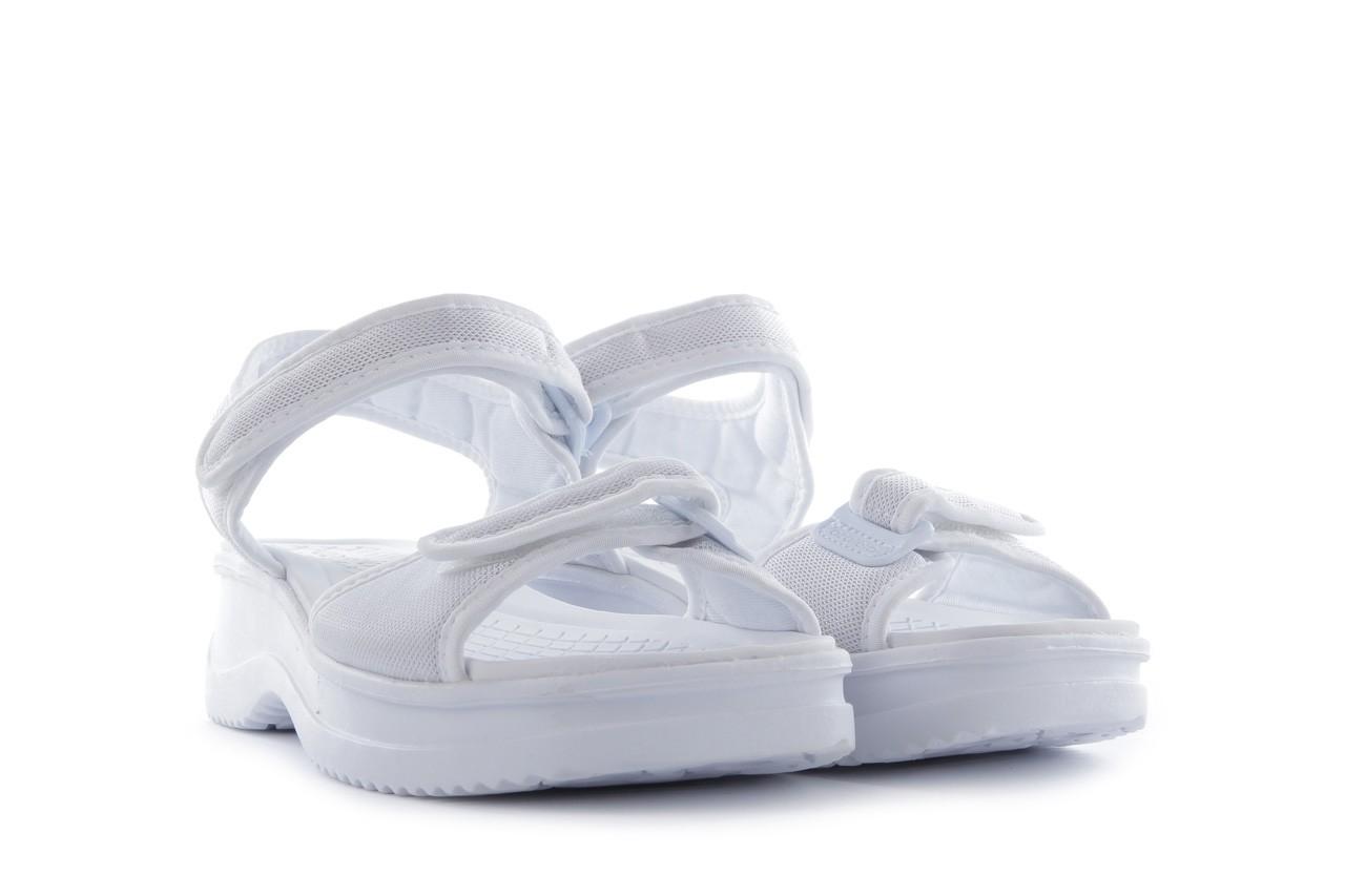 Sandały azaleia 320 321 white 20, biały, materiał - mega okazje - ostatnie rozmiary 7