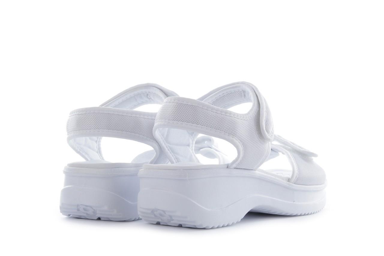 Sandały azaleia 320 321 white 20, biały, materiał - mega okazje - ostatnie rozmiary 9