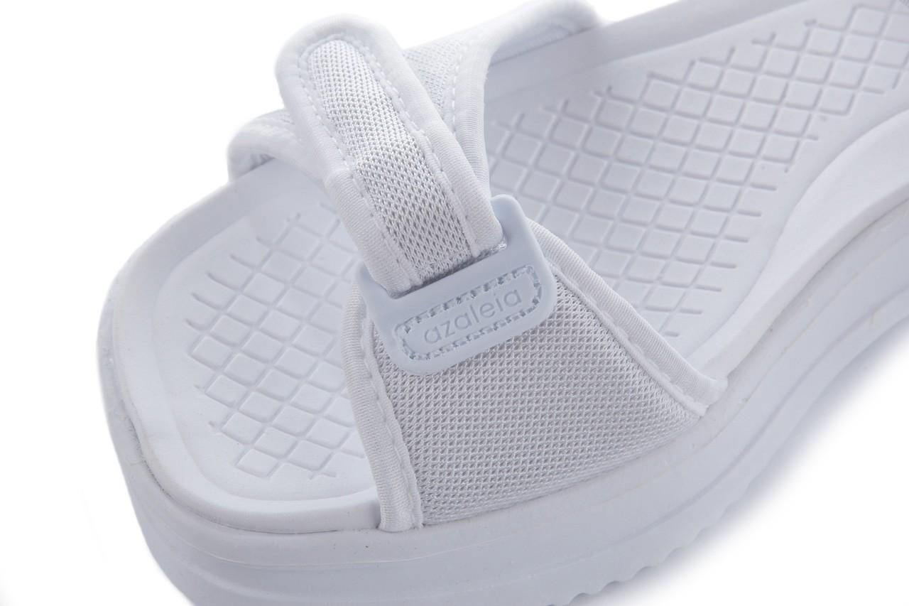 Sandały azaleia 320 321 white 20, biały, materiał - mega okazje - ostatnie rozmiary 11