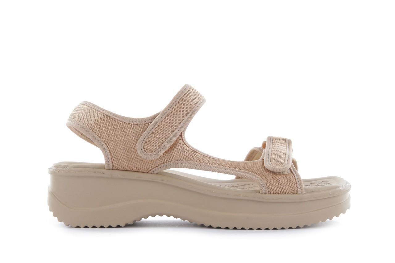 Sandały azaleia 320 323 beige 18, beż, materiał - azaleia - nasze marki 6