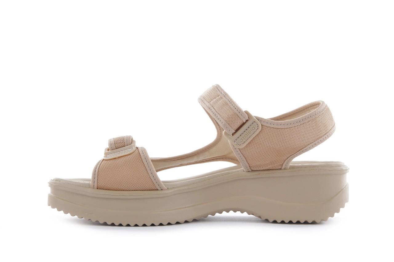 Sandały azaleia 320 323 beige 18, beż, materiał - azaleia - nasze marki 8