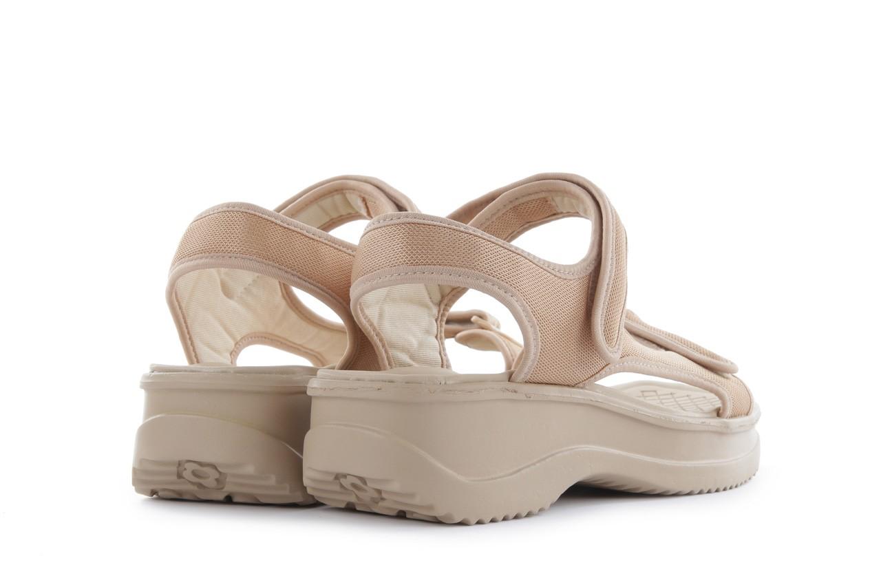 Sandały azaleia 320 323 beige 18, beż, materiał - azaleia - nasze marki 9