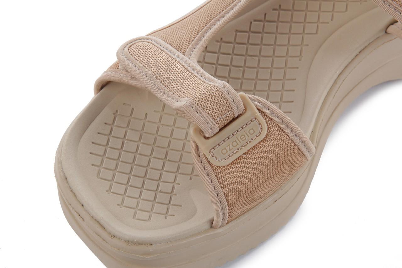 Sandały azaleia 320 323 beige 18, beż, materiał - azaleia - nasze marki 11