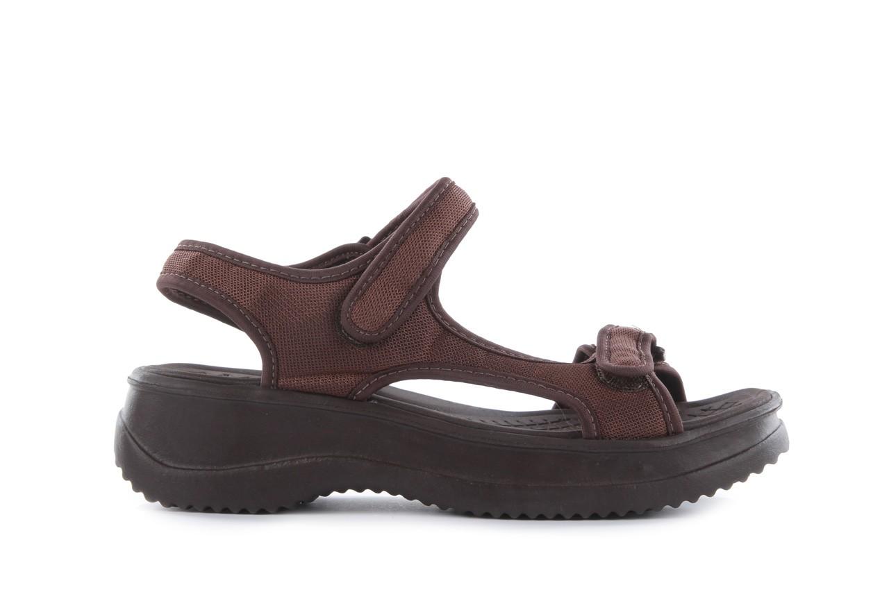 Sandały azaleia 320 323 brown 18, brąz, materiał - obuwie sportowe - buty damskie - kobieta 7